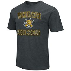 Men's Campus Heritage Wichita State Shockers Charcoal Tee