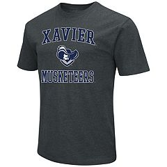 Men's Campus Heritage Xavier Musketeers Charcoal Tee