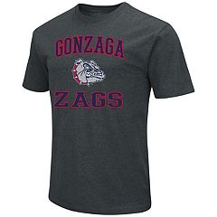 Men's Campus Heritage Gonzaga Bulldogs Charcoal Tee