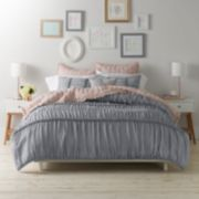 LC Lauren Conrad Braided Duvet Cover Set