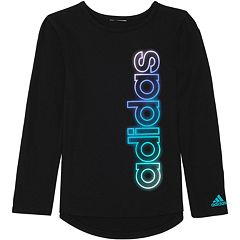 Girls 7-16 adidas Logo Long Sleeve Graphic Tee
