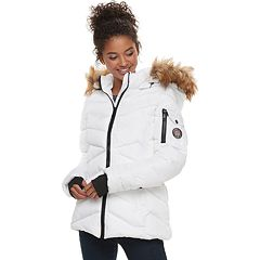 madden NYC Juniors' Short Puffer Jacket