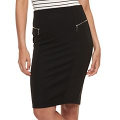 Juniors' Joe B Stretchy Pencil Skirt