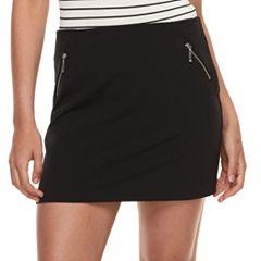 Juniors' Joe B A-Line Skirt