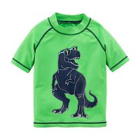 Boys 4-8 Carter's Printed Rash Guard