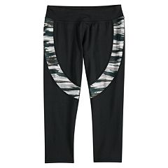 Girls 7-16 SO® Colorblock Capri Leggings