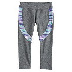 Girls 7-16 SO® Colorblock Capri Leggings