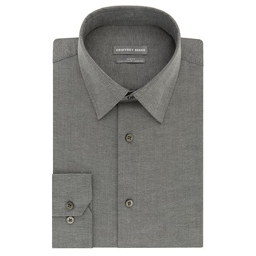 Men's Geoffrey Beene Slim-Fit Stretch Flex Point-Collar