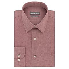 Men's Geoffrey Beene Slim-Fit Stretch Flex Point-Collar Dress Shirt
