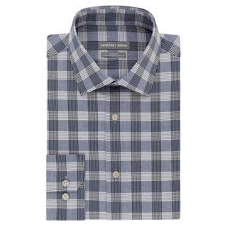 Men's Geoffrey Beene Slim-Fit Stretch Flex Spread-Collar Dress Shirt