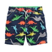 Boys 4-8 Carter's Dinosaur Swim Trunks