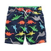 Boys 4-8 Carter's Dinosaur Swim Trunks