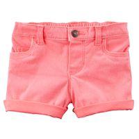 Baby Girl Carter's Rolled-Hem Shorts