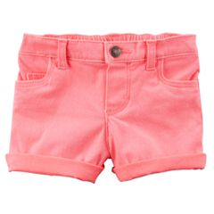 Baby Girl Carter's Rolled-Hem Shorts