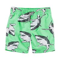 Boys 4-8 Carter's Shark Swim Trunks