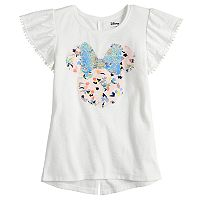 Disney's Minnie Mouse Girls 4-7 Flip Sequins Tee by Jumping Beans®