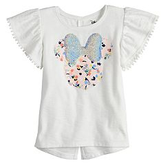 Disney's Minnie Mouse Toddler Girl Ruffle Sleeve Tee by Jumping Beans®