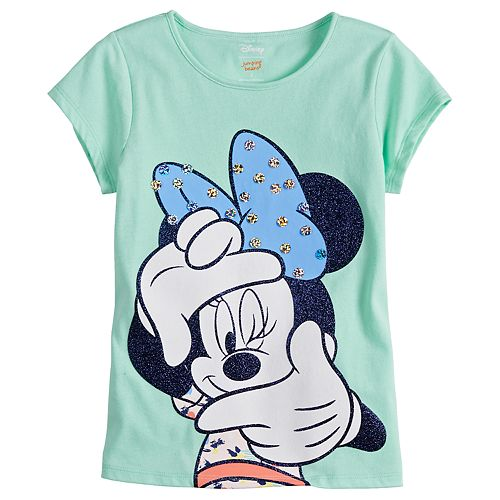 Disney s Minnie Mouse Girls 4-7 Glitter Dot Tee by Jumping Beans® 49ef36ddd0