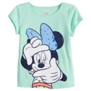 Disney's Minnie Mouse Toddler Girl Glitter Dot Tee by Jumping Beans®