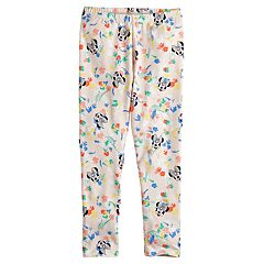 Disney's Minnie Mouse Girls 4-7 Floral & Face Leggings by Jumping Beans®