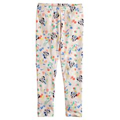 Disney's Minnie Mouse Toddler Girl Floral & Face Leggings by Jumping Beans®