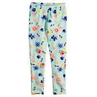 Disney's Minnie Mouse Girls 4-7 Glitter Floral Leggings by Jumping Beans®
