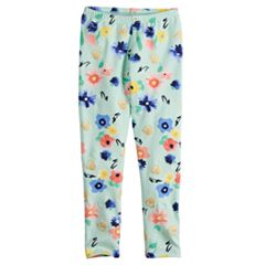 Disney's Minnie Mouse Toddler Girl Glitter Floral Leggings by Jumping Beans®
