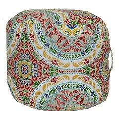 SONOMA Goods for Life™ Indoor Outdoor Short Round Pouf