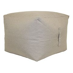 SONOMA Goods for Life™ Indoor Outdoor Short Square Pouf