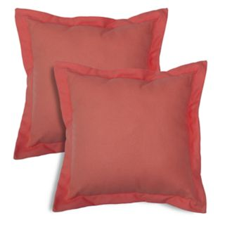 SONOMA Goods for Life? Indoor Outdoor Flanged R2-Pack Reversible Throw Pillow Set