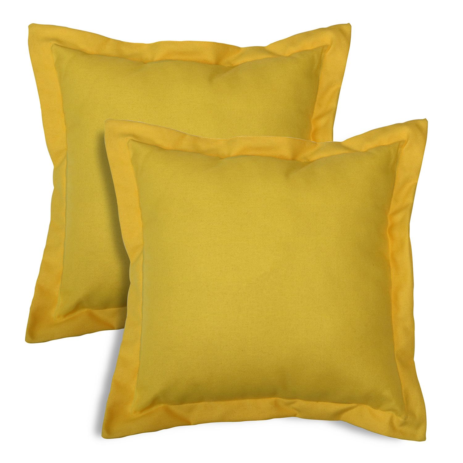SONOMA Goods For Life™ Indoor Outdoor Flanged 2 Pack Reversible Throw  Pillow Set