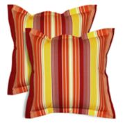 SONOMA Goods for Life? Indoor Outdoor Flanged 2-Pack Reversible Throw Pillow Set