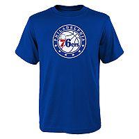 Boys 8-20 Philadelphia 76ers Primary Logo Tee