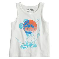 Disney's Mickey Mouse Toddler Boy Surfing Softest Tank Top by Jumping Beans®