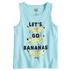 Toddler Boy Jumping Beans® 'Let's Go Bananas' Softest Tank Top