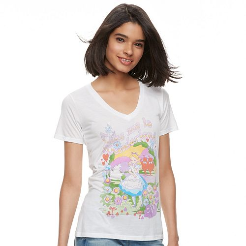 Disney's Alice in Wonderland Juniors' Take Me To Wonderland Graphic Tee