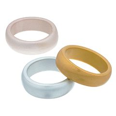3-pack Silicone Rings
