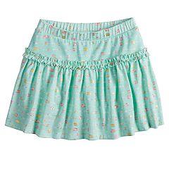 Girls 4-10 Jumping Beans® Pattern Ruffled Skort
