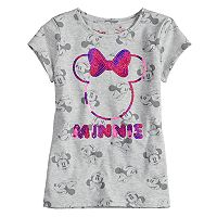 Disney's Minnie Mouse Girls 4-7 Sequin Tee by Jumping Beans®