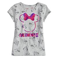 Disney's Minnie Mouse Toddler Girl Sequin Tee by Jumping Beans®