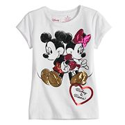 Disney's Mickey Mouse & Minnie Mouse Toddler Girl Heart Tee by Jumping Beans®