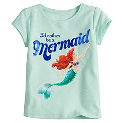 Disney's Little Mermaid Toddler Girl Ariel 'I'd Rather Be A Mermaid' Tee by Jumping Beans®