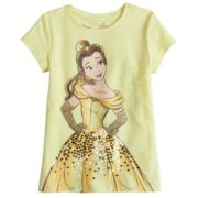 Disney Princess Belle Toddler Girl Embellished Tee by Jumping Beans®