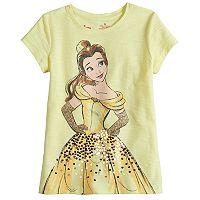 Disney Princess Belle Girls 4-7 Embellished Tee by Jumping Beans®