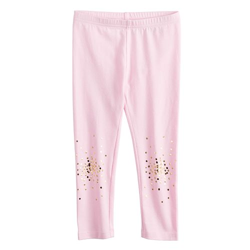 Toddler Girl Jumping Beans® Placed Print Long Leggings