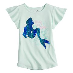 Disney's Little Mermaid Girls 4-7 Ariel Embellished Tee by Jumping Beans®