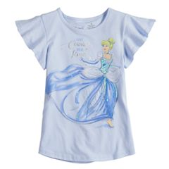 Disney's Cinderella Toddler Girl 'Have Courage & Be Kind' Tee by Jumping Beans®