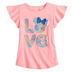 Disney's Minnie Mouse Girls 4-7 'Love' Tee by Jumping Beans®