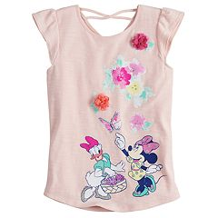 Disney's Minnie Mouse & Daisy Duck Girls 4-7 Floral Tee by Jumping Beans®