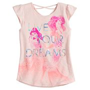 Disney Princess Toddler Girl Ariel, Belle & Cinderella 'Live Your Dreams' Tee by Jumping Beans®